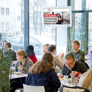 UniScreen, Studentenmarketing, Uniwerbung, Uni Wien