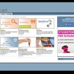 Platzierung Online Werbemittel - Hochschulmarketing online