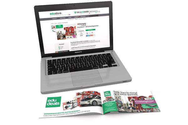 edudeals Kampagne |Online + Gutscheinheft