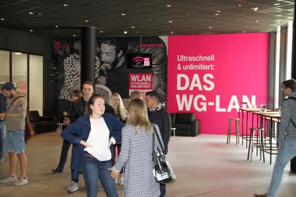 Lounge Branding | WU Wien