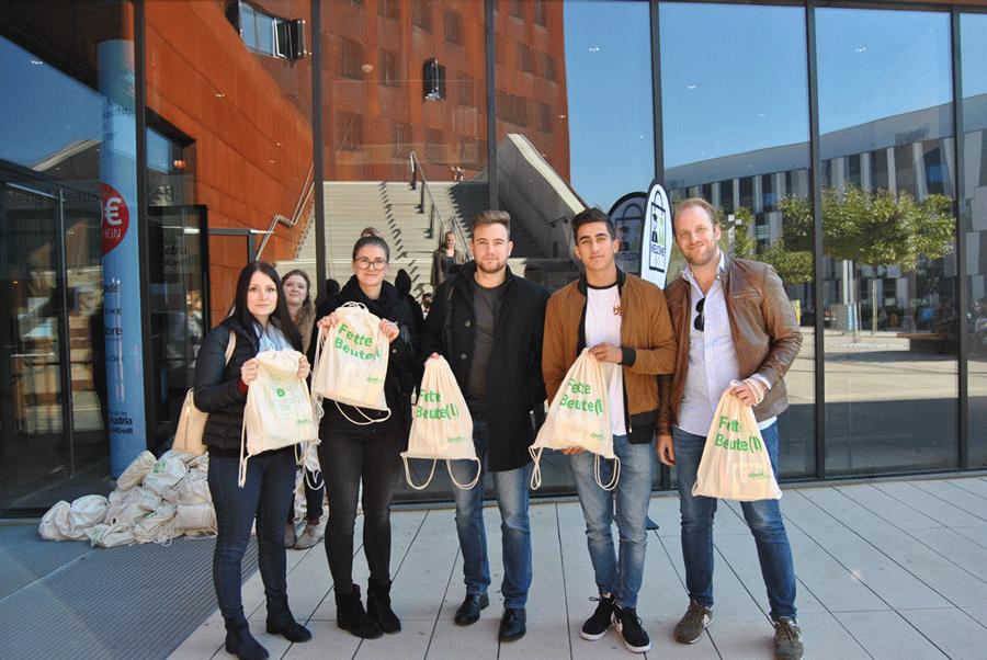 Welcome Bag Verteilung - Wintersemester 2017