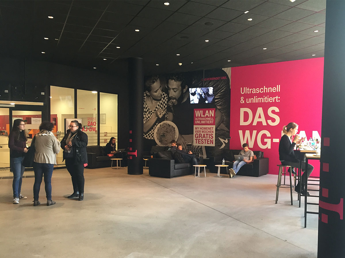 UniBranding |WU Wien | Lounge Branding
