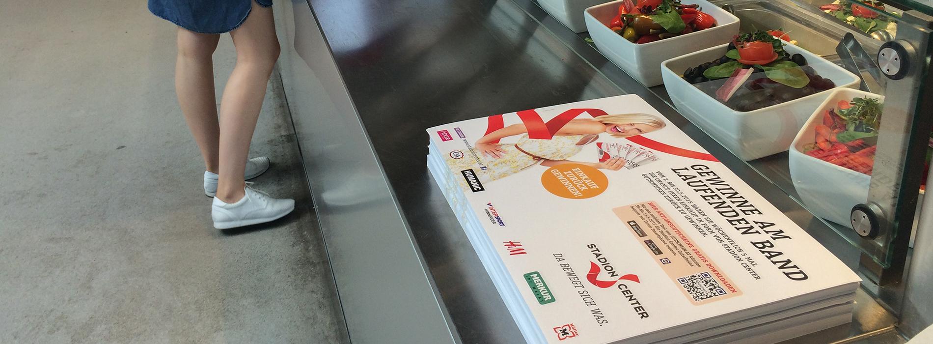 UniDirekt - Tablettaufleger, Flyer & Tischdisplays