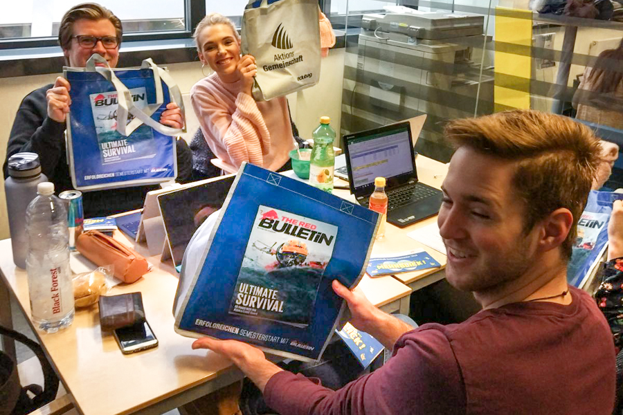 edubag Sommersemester 2018 FH Wien der WKW Hochschulmarketing mit Media in Progress
