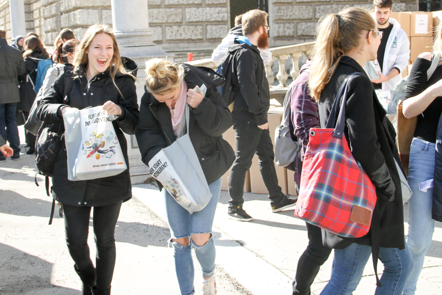 edubag Uni Wien Sommersemester 2018 | Hochschulmarketing mit Media in Progress