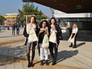 Welcome Bag Verteilung - Wintersemester 2017
