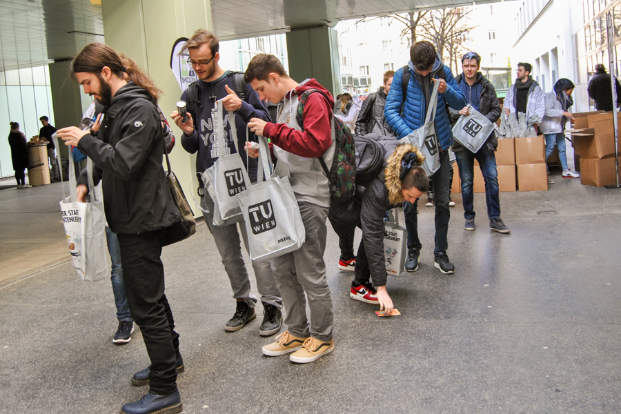 edubag TU Wien Sommersemester 2018 Hochschulmarketing mit Media in Progress