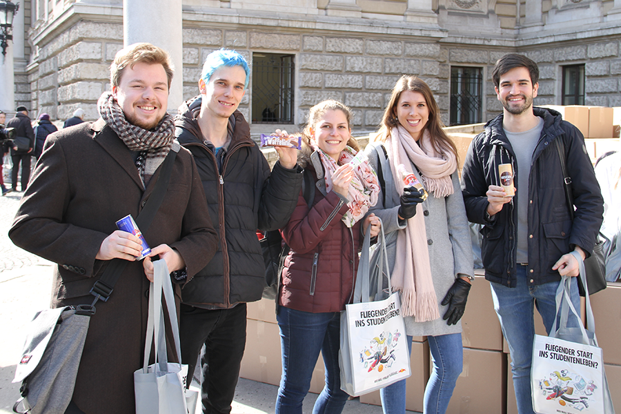 edubag Uni Wien Sommersemester 2018 Hochschulmarketing mit Media in Progress