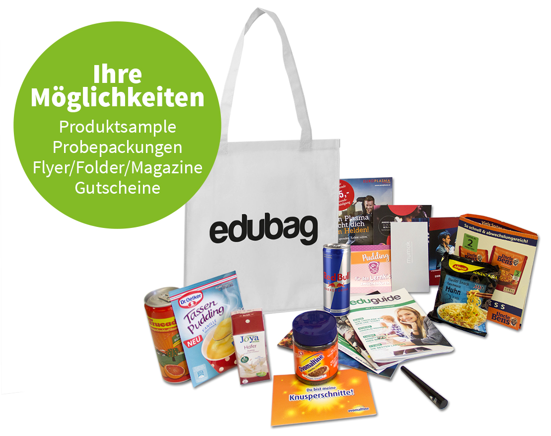 edubag Sampling Beispiele
