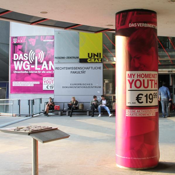 T-Mobile Branding Graz