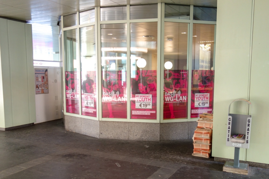 T-Mobile | Glasbranding TU Wien Freihaus
